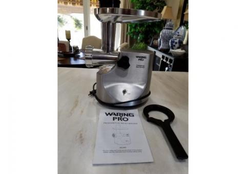 Waring professional meat grinder